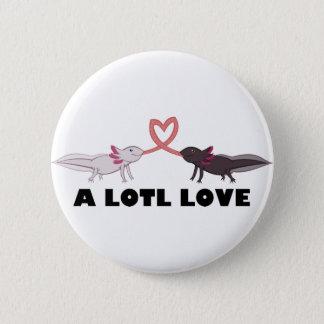 Badges amour d'axolotl