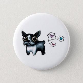 Badges Amour de Boston Terrier