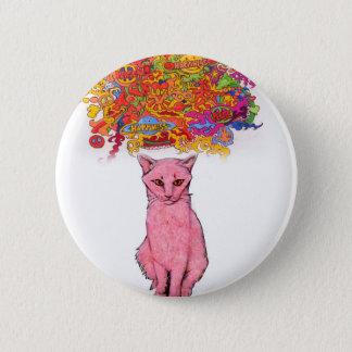 Badges Amour et bonheur Kitty de paix
