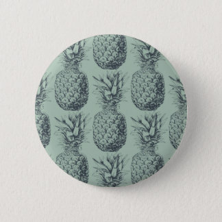 Badges Ananas, conception de motif de fruit tropical