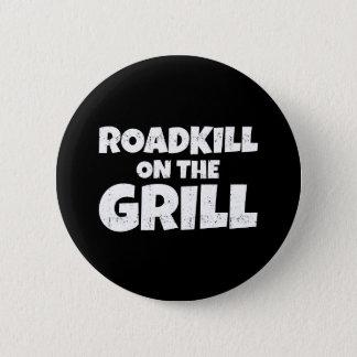 Badges Animal tué sur une route sur le gril - partie de