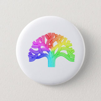 Badges Arc-en-ciel d'arbre d'Oakland