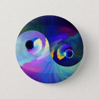 Badges Arc-en-ciel Taijitu Yin Yang