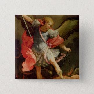 Badges Arkhangel Michael défaisant Satan