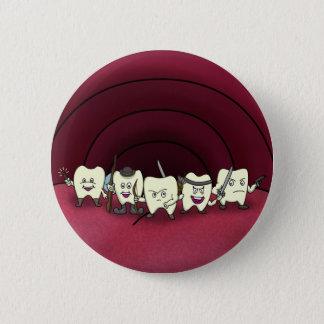 Badges Armé aux dents