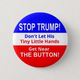 Badges Arrêtez bouton minuscule des mains de l'ATOUT le