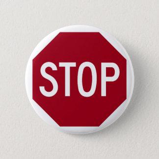 Badges Arrêtez le signe