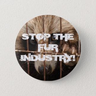 Badges Arrêtez l'industrie de fourrure