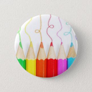 Badges Art coloré de crayon