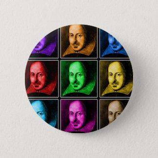 Badges Art de bruit de Shakespeare