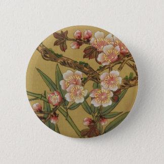 Badges Art japonais asiatique de fleurs de cerisier