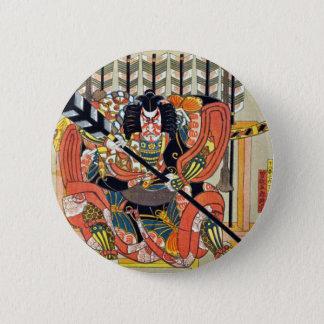 Badges Art japonais d'ukiyoe (utagawa de kunisada)