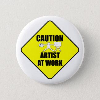 Badges artiste au signe de travail