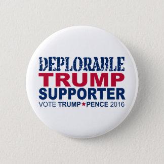 Badges Atout pour le président 2016 - déplorable je