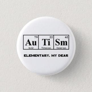 Badges Autisme, éléments et Sherlock Holmes de Tableau