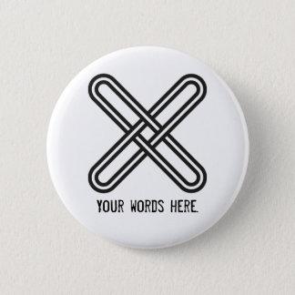 Badges Avertissement de l'os   de Kramo contre