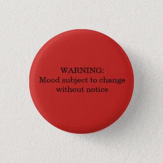 Badges Avertissement : Modes sujet au bouton de
