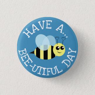 Badges Ayez un jour d'Utiful d'abeille