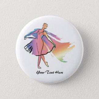 Badges Ballerine en pastel (Personalized_