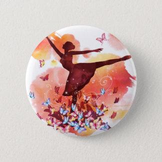 Badges Ballet vintage de danseuse de ballerine