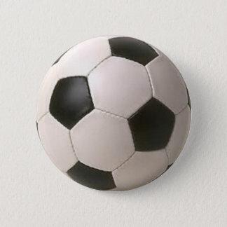 Badges Ballon de football noir et blanc