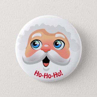 Badges Bande dessinée heureuse du père noël