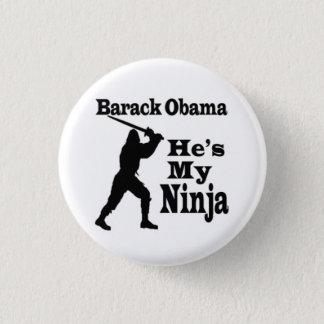 Badges Barack Obama est mon Ninja