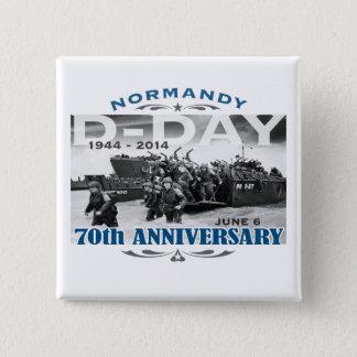 Badges Bataille d'anniversaire de le jour J