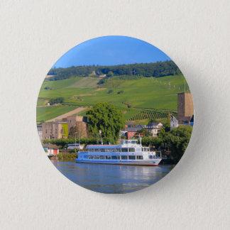 Badges Bateau de croisière, Rudesheim, Allemagne