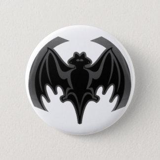 Badges Batte Inv noir les cadeaux de Zazzle de MUSÉE
