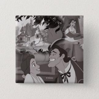 Badges Beauté et la belle et le Gaston de la bête  