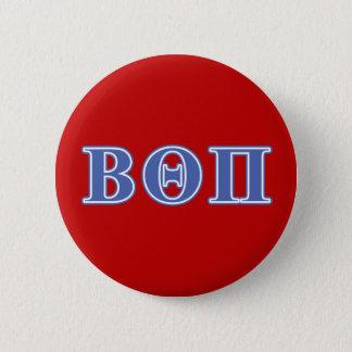 Badges Bêtas lettres de bleu du thêta pi