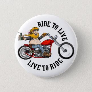 Badges biker motard ride to live
