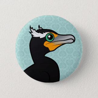 Badges Birdorable Cormorant Double-crêté