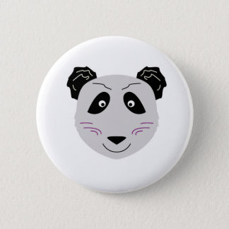 Badges Blackgrey mignon de petit panda