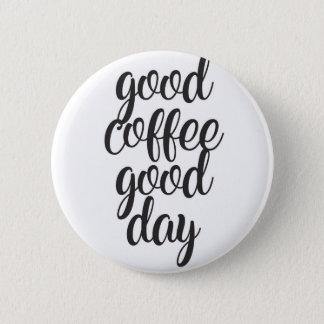 Badges Bon beau jour de café