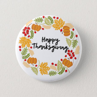 Badges BON THANKSGIVING, guirlande de thanksgiving,