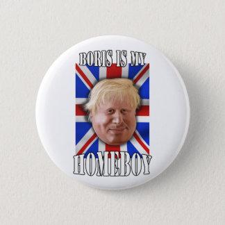 """Badges Boris Johnson, """"Boris est maire de mon homeboy"""""""