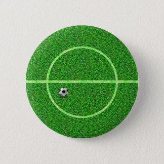 Badges Boule de terrain de football du football - bouton