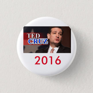 Badges Bouton 2016 de Ted Cruz Pinback