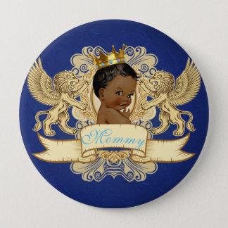 Badges Bouton africain de baby shower de prince Royal