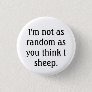 Badges bouton aléatoire de moutons
