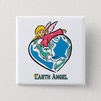 """Badges Bouton : """"Ange de la terre """""""