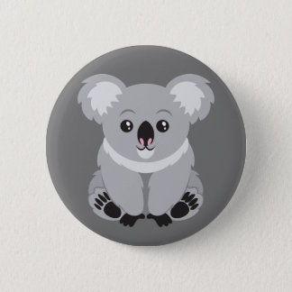 Badges Bouton Animated d'ours de koala