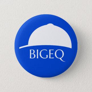 Badges Bouton bleu de Pin du fonctionnaire BIGEQ