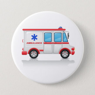 Badges Bouton d'ambulance