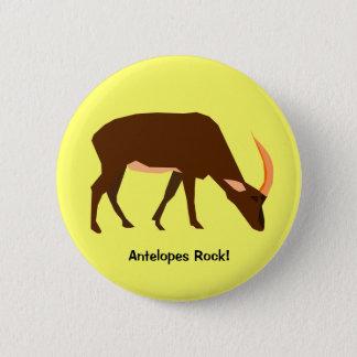 Badges Bouton d'antilope