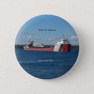 Badges Bouton d'Arthur M. Anderson