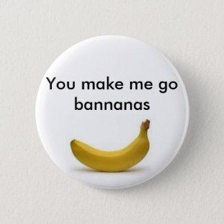 Badges Bouton de bananes