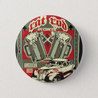 Badges Bouton de brasserie de Rod de rat